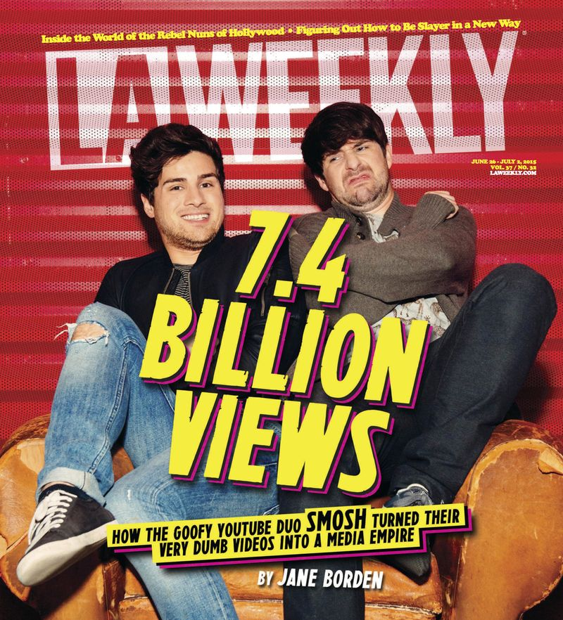 L.A. Weekly Smosh Article Cover