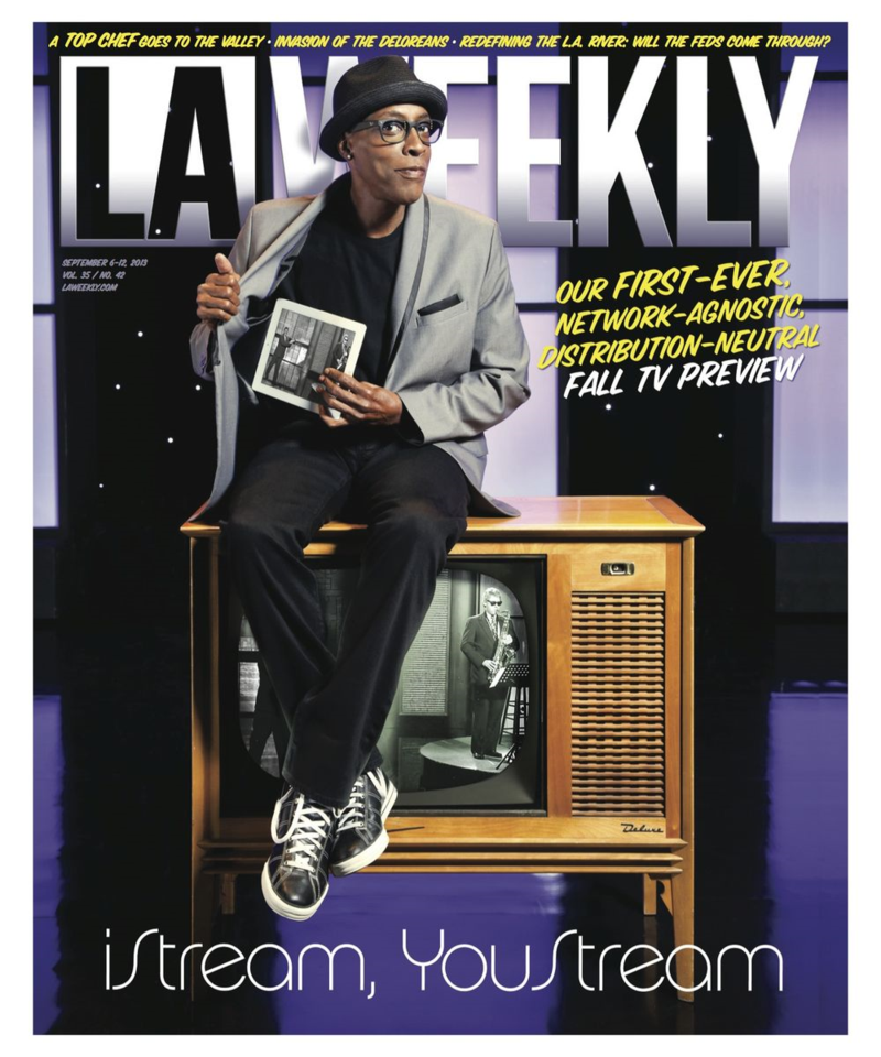 L.A. Weekly TV Preview 2013 Cover
