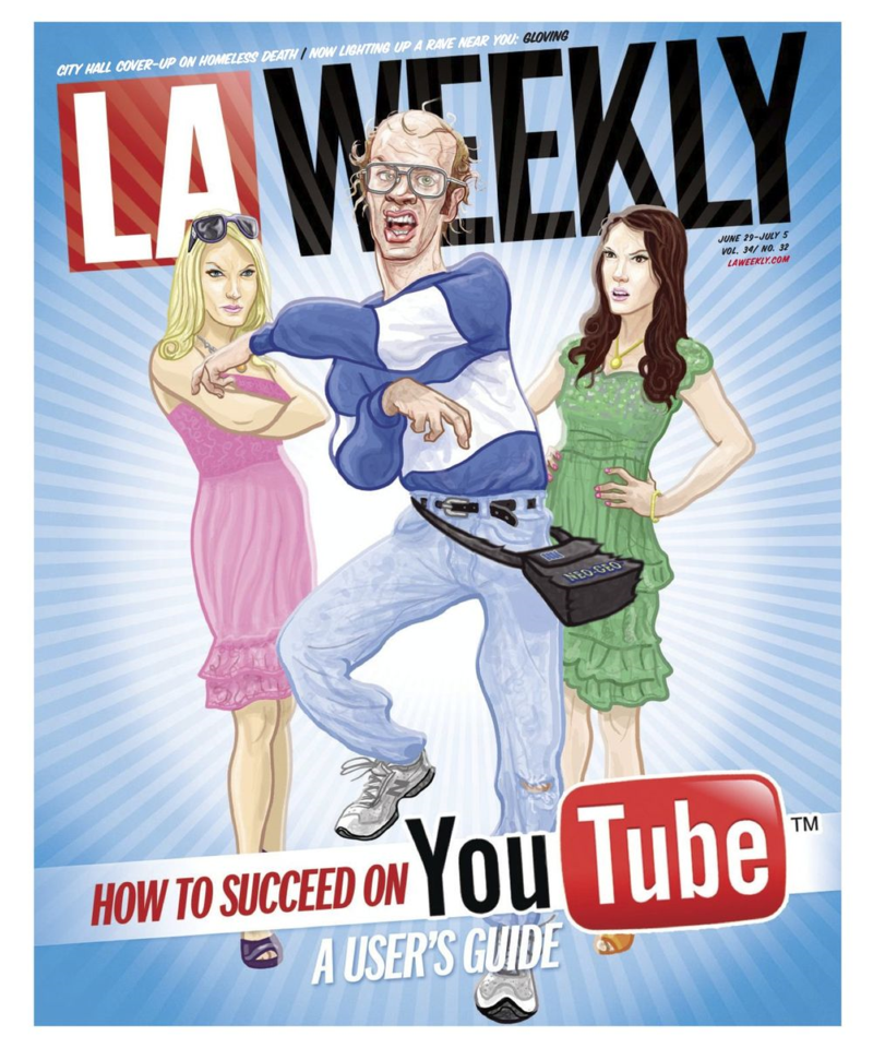 L.A. Weekly YouTube Issue 2012 Cover